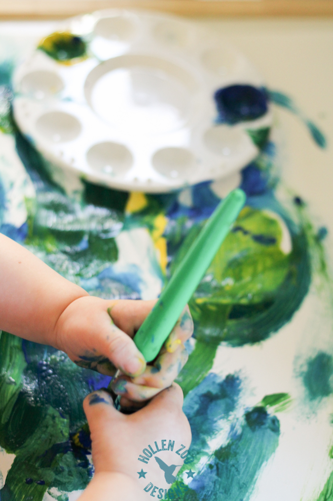 Painting With Tempra Paint (14 of 22)