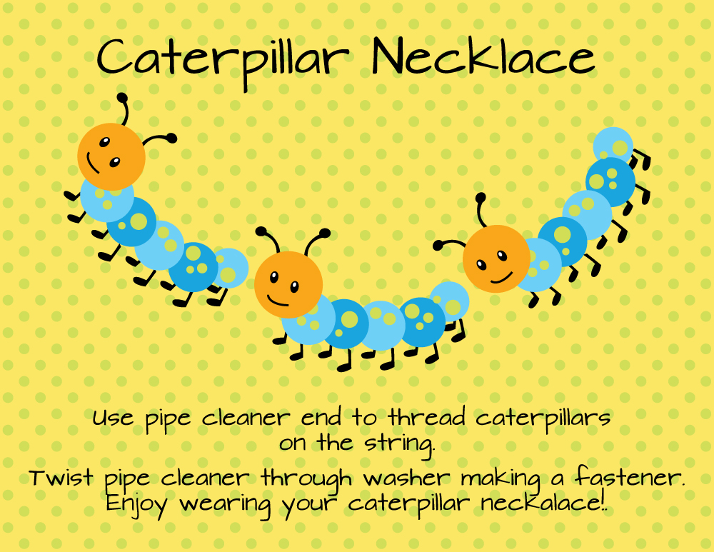 Caterpillar-Necklace