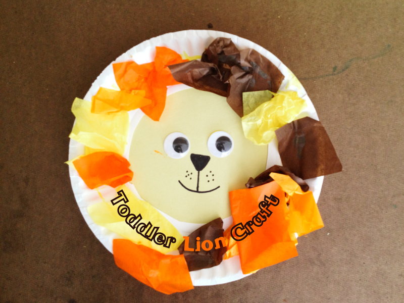 Lion Craft for Toddlers