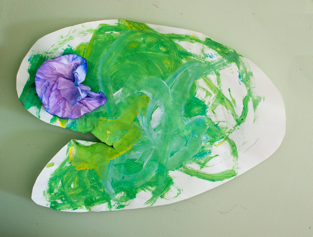 Lily Pad Art