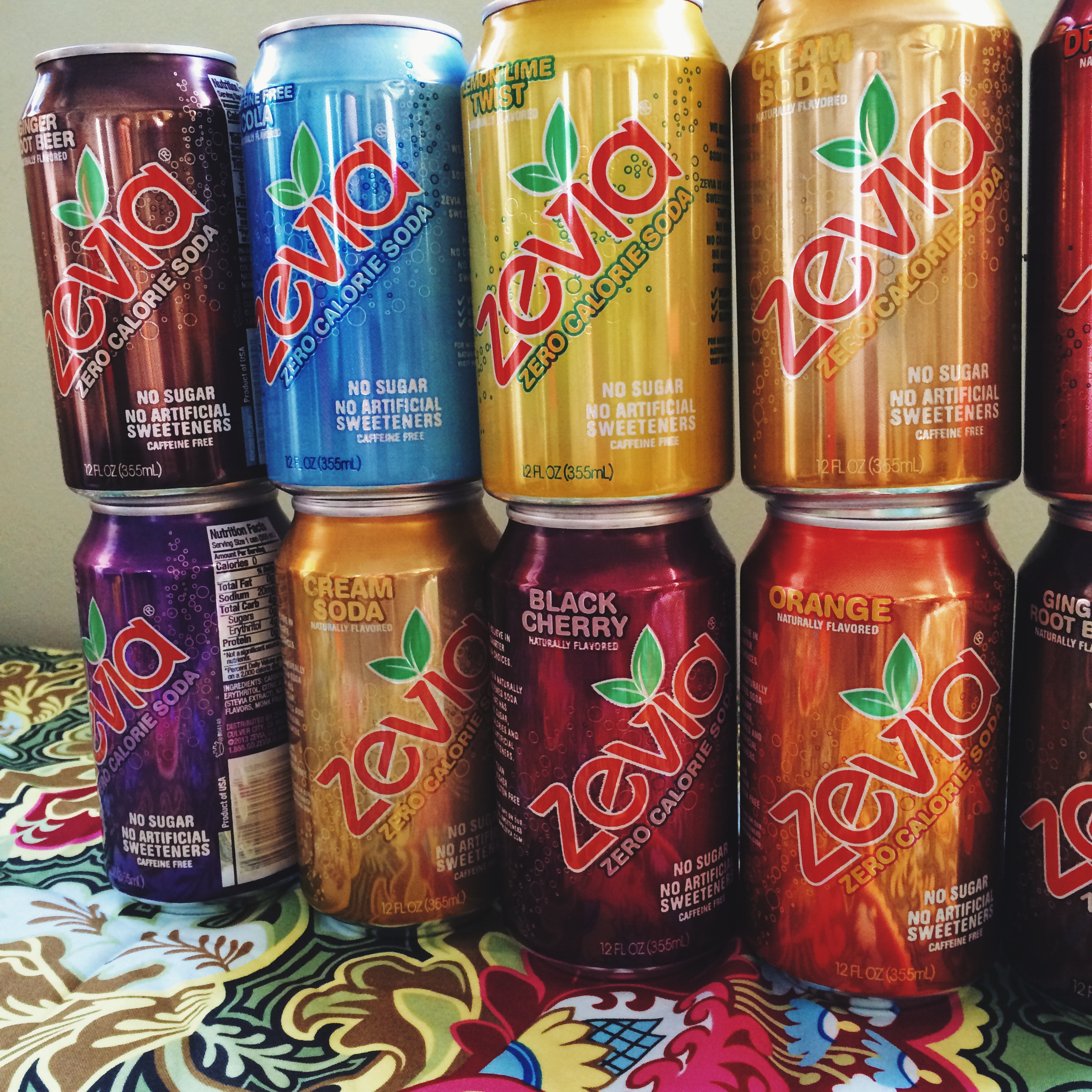 Zevia Zero Calorie Soda Review