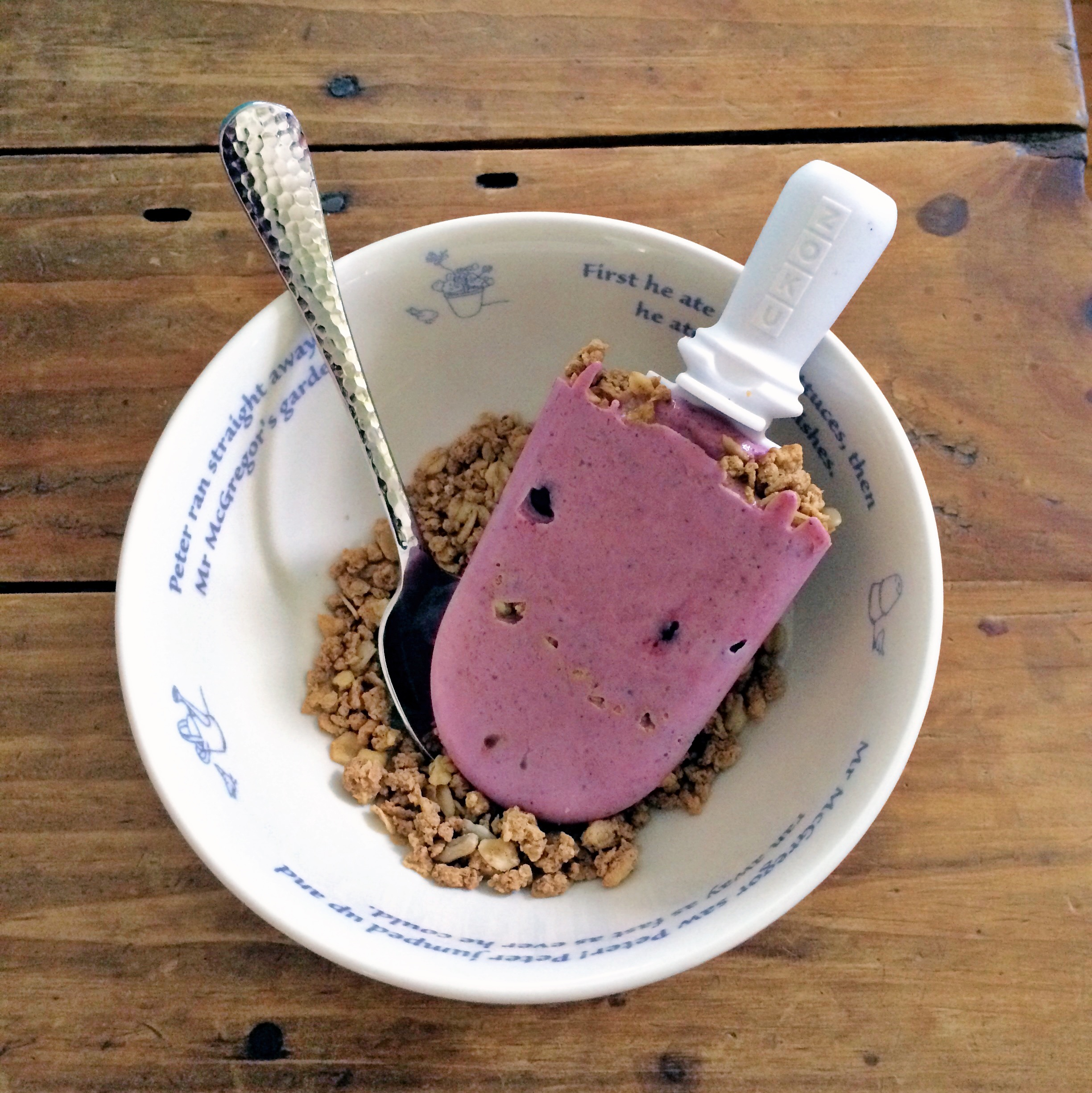 Wild Blueberry Breakfast Pops